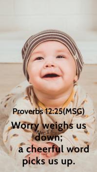 Bible Quote Whatsapp Status Template
