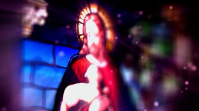 Bible study church zoom background 数字显示屏 (16:9) template