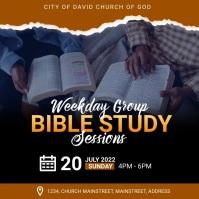 bible study Instagram Post template