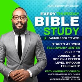 BIBLE STUDY Kvadrat (1:1) template