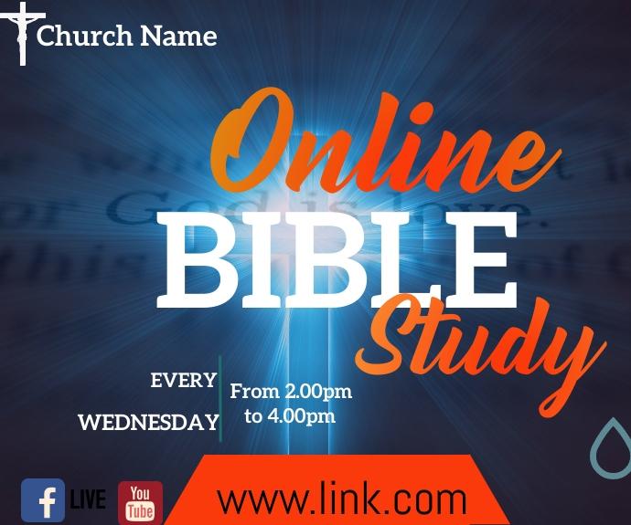 bible study 中型广告 template