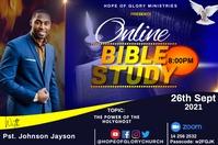 Bible study Ilebula template