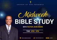 Bible study ไปรษณียบัตร template
