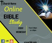 bible study Средний прямоугольник template