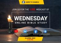 Bible study Postkarte template