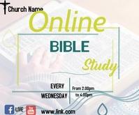 bible study Rectangle moyen template