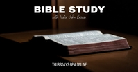 Bible Study Facebook Shared Image template