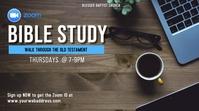 bible study Digital Display (16:9) template