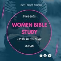 Bible Study Vierkant (1:1) template