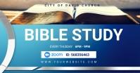 bible study Image partagée Facebook template