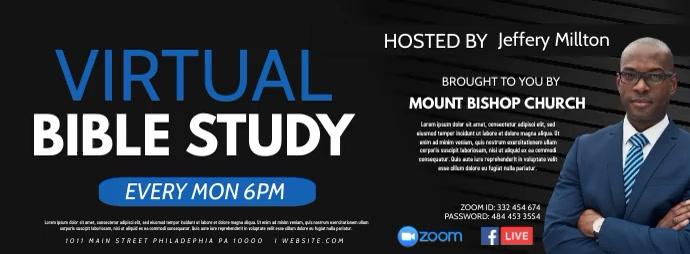 Bible study Facebook 封面图片 template