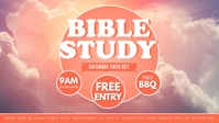 Bible Study Facebook Event Cover template
