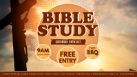 Bible Study Facebook Event Cover Facebook-Covervideo (16:9) template