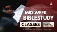 bible study flyer Tampilan Digital (16:9) template
