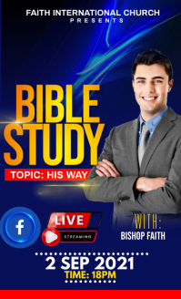 BIBLE STUDY FLYER US Legal template