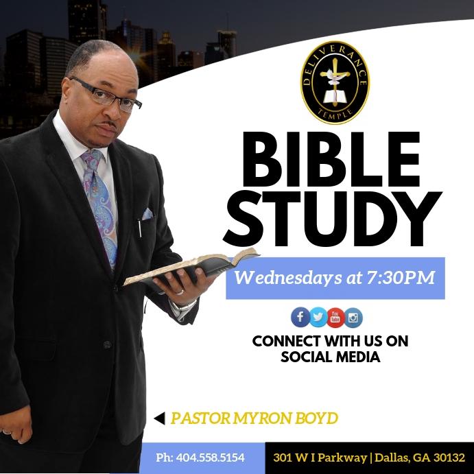 Bible Study Pos Instagram template