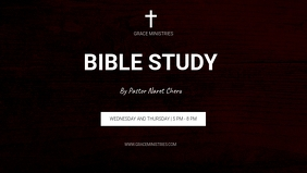 BIBLE STUDY INSTAGRAM POST TEMPLATE Facebook 封面视频 (16:9)