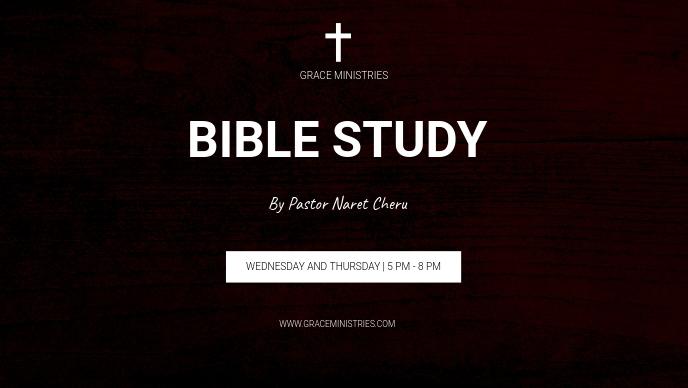 BIBLE STUDY INSTAGRAM POST TEMPLATE Facebook 封面视频 (16:9)