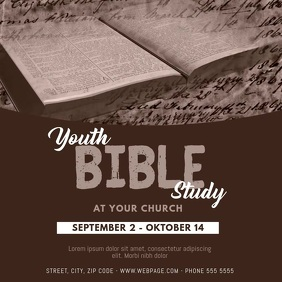 Bible Study Instagram Video Template