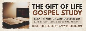 Bible Study Invitation Banner Design