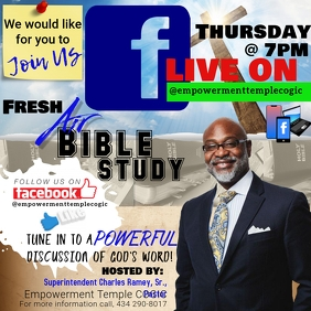 Bible Study Live on Facebook