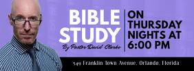 Bible Study Modern Church Banner