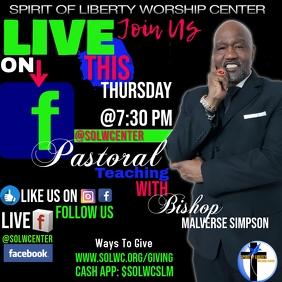 bible study on FB live