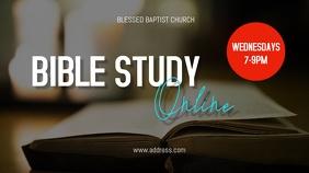 Bible Study Online Pantalla Digital (16:9) template