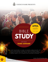 Bible Study Portrait Flyer