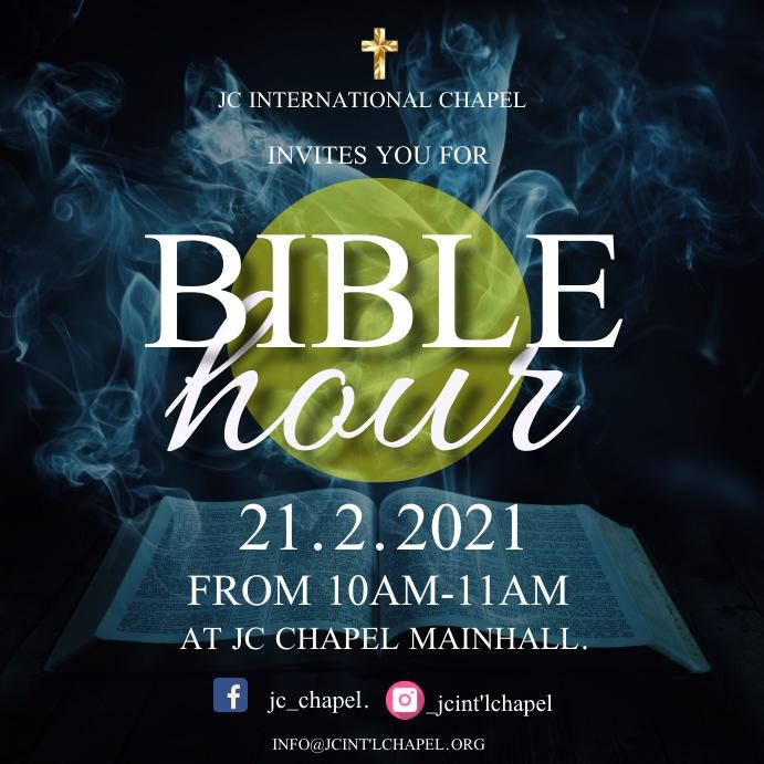 bible study poster Instagram 帖子 template