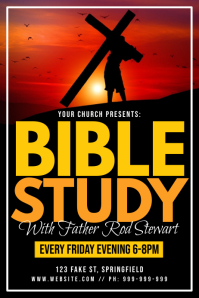 Bible Study Poster