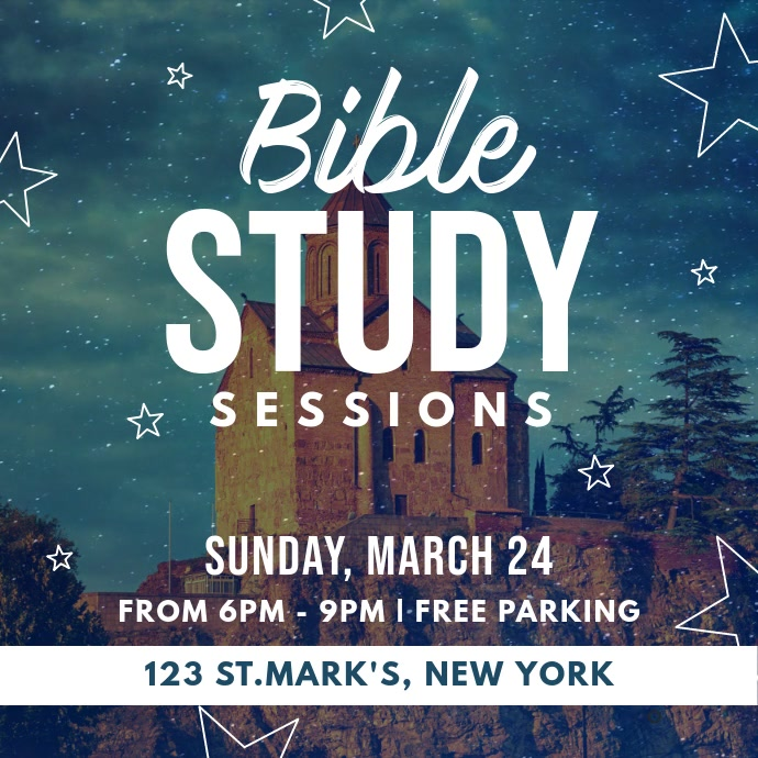 Bible Study Sessions Instagram Video