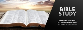 Bible study social media template