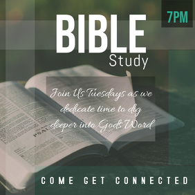 Bible Study Template 1