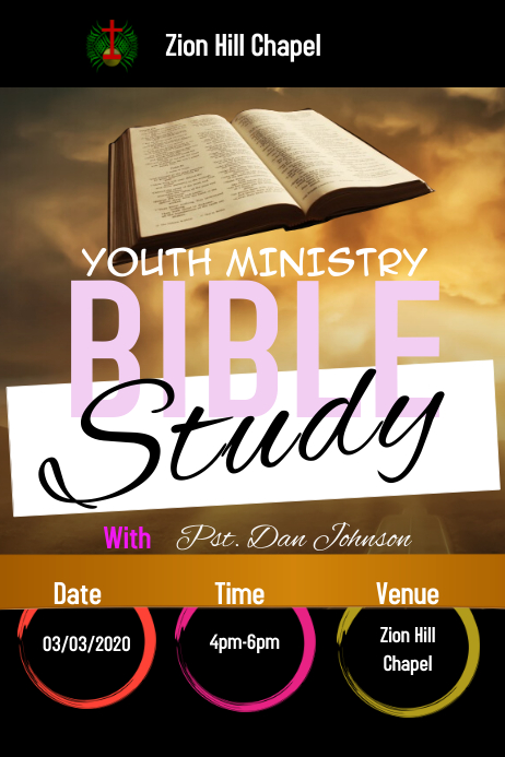 Bible Study Template