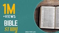 Bible Study Youtube thumbnail template