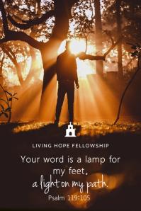 Bible verse Grafica Pinterest template