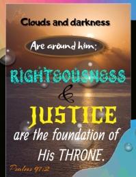 bible verse Рекламная листовка (US Letter) template