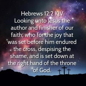 Bible Verse Instagram Template