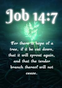 Bible verses A4 template