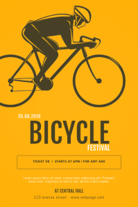 Bicycle Event Flyer Template