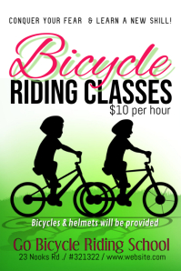 bicycle lessons template