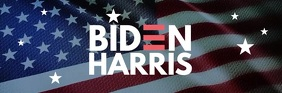Biden Harris election campaign email header template