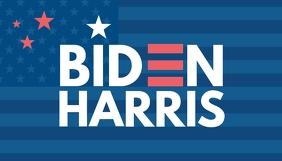Biden Harris president campaign blog header template