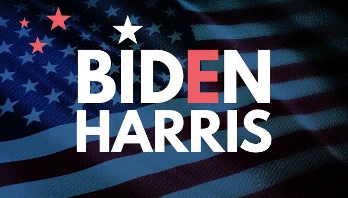 Biden Harris Victory Blog Header Video ส่วนหัวบล็อก template
