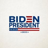Biden President 2021 Template Square (1:1)