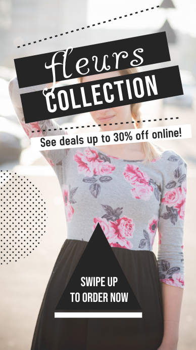 Big Apparel Sale Modern Instagram Story