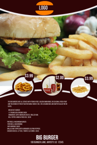 Big Burger Restaurant Menu