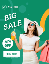 big sale Flyer (US Letter) template