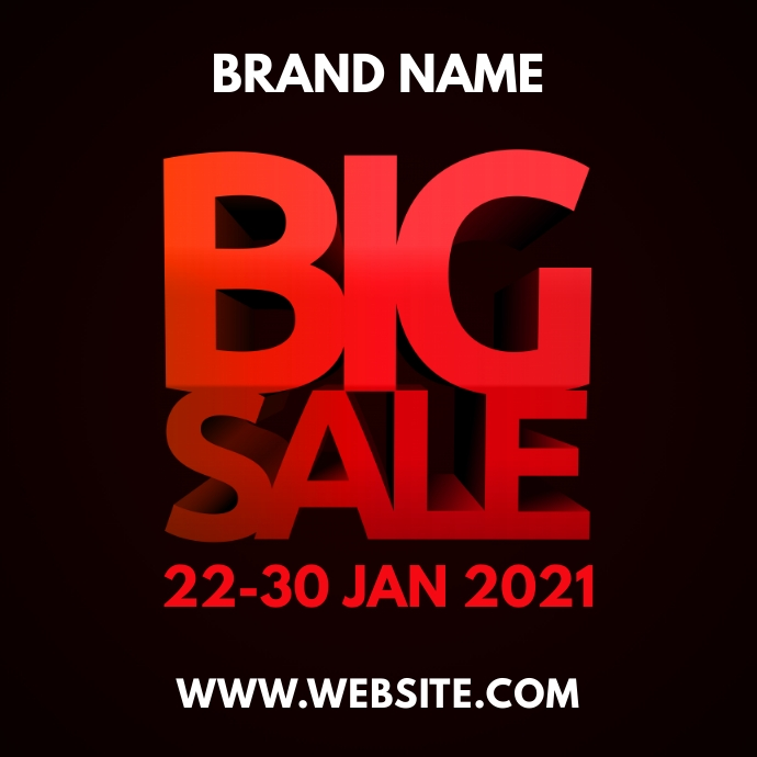 Big Sale Logo template